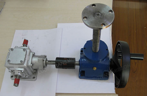 hand-operated screw jack