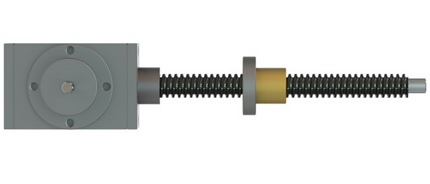 bevel gear screw jack
