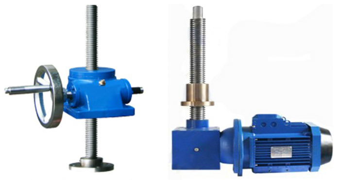 manual and electric screw jack