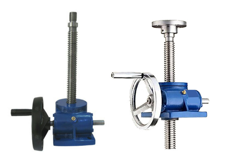 manual worm screw jack