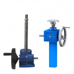 manual worm gear screw jack lifts