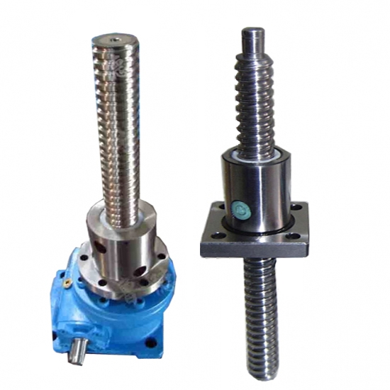 worm gear lifting screw jack actuator