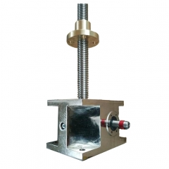 stainless trapezoidal jack screw