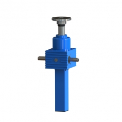 cubic ball worm gear screw jack