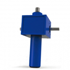 Cubic machine screw jack