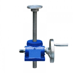 worm screw jack with handwheel