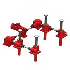 4-set Screw Jack System U Type