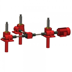 Three-set Linkage Screw Jack System