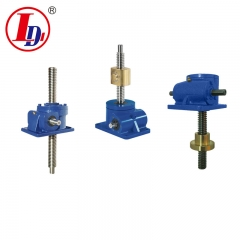 Hot Sale Trapezoidal  Worm Gear Screw Jack for Lifting or Pressing